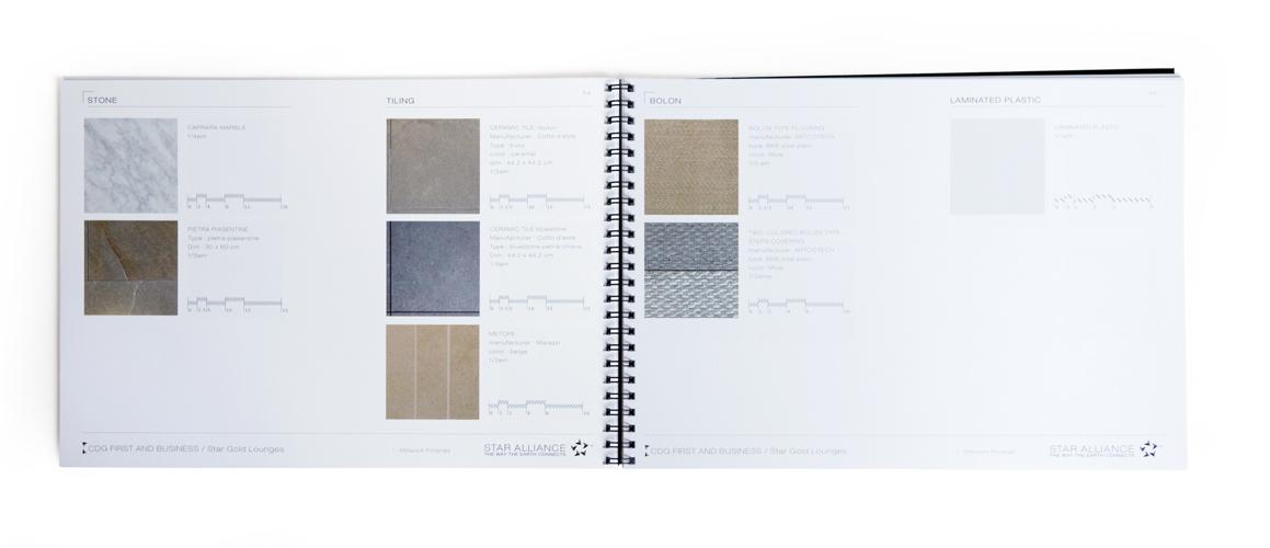 palette des materiaux